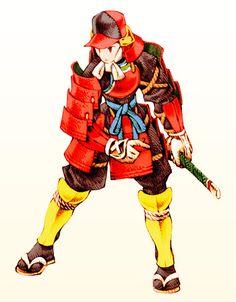 FFT Male Samurai