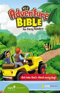 NIrV Adventure Bible helps kids from 6-9 years of age.