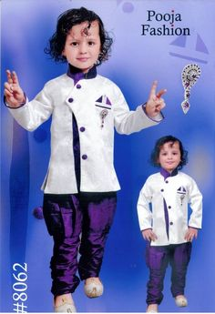 Kids Dresses Baby Clothing Boy's Sherwani Style Stylish Kurta  #Kurta&Pyjama  #Wedding