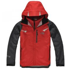The North Face Men's 3 in 1 Triclimate Fleece Waterproof Jacket Red