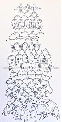 esquema+tapete+chaleco+circular+ganchillo+crochet+calado.jpg (569×1123)