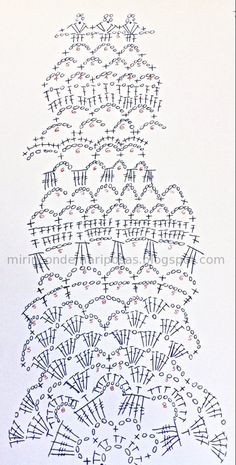 esquema+tapete+chaleco+circular+ganchillo+crochet+calado.jpg 569×1,123 ピクセル