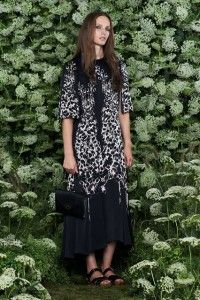 Mulberry Unique Spring Collection 2015 from London Fashion Week
