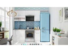 home; Ikea Kitchen, Kitchen Cabinets, Kitchen Modern, Aurora, Sweet Home, Design, Home Decor, Tiffany White, 180