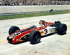 1968 Rislone Racing Bobby Unser Indy Car Indianapolis 500 8x10 Photo