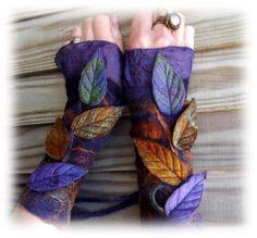 Nebula Cuffs - Faerie Cuffs - Vintage lace cuffs JA.....