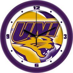 Mens Northern Iowa Panthers - Dimension Wall Clock