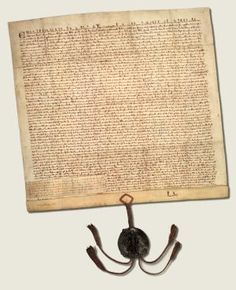 Letters patent of Edward I, confirming the liberties of England (Magna Carta).