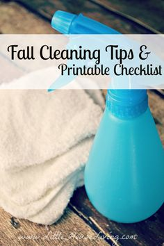 Get your home ready for fall with these genius fall cleaning tips.