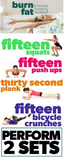 6 min morning workout