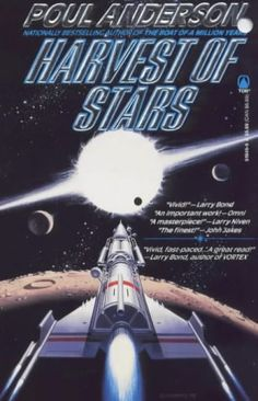 Harvest of Stars by Poul Anderson http://www.amazon.com/dp/0812519469/ref=cm_sw_r_pi_dp_ucvexb0DZT4H3