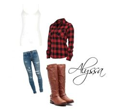 """""""Alyssa's 1st outfit"""" by alwaysmaddie ❤ liked on Polyvore featuring Yves Saint Laurent and Oasis"""