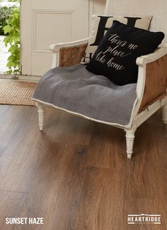 HEARTRIDGE FLOORS - Sunset Haze / Luxury Vinyl Plank Flooring