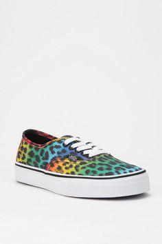 Get wild! #urbanoutfitters #vans #leopard #sneaker