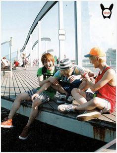 SHINee - Onew, Key & Taemin ♥