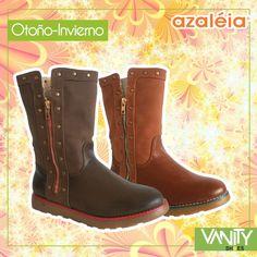 Lindas no? Muy cómodas y divertidas botas de #invierno Azaleia Perú en Vanity Shoes