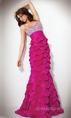 I'm pretty sure @Justine Fye needs this for prom... It looks like a mermaid tail!