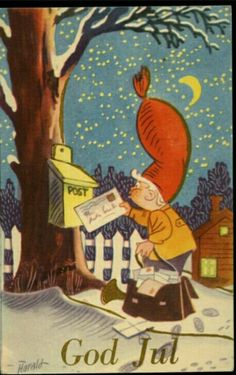 Julekort Harald Øglænd