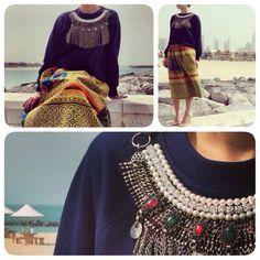 Sauces #bedouinnouveau #sweatshirt #fashion #arabic