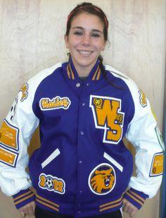 West Seattle High School Varsity Letter jacket. www.nationalachiever.com  #varsity #sport  # letterman #Jacket