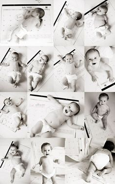 Monthly Baby Pictures - i wish i stArted this 4 months ago.....
