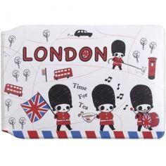 Sugar Hotel Card Case: Panda London Tea Time