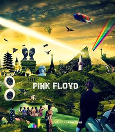 Debut album The Piper At The Gates Of Dawn is still considered one of the greatest. Pink Floyd Wall Art, Arte Pink Floyd, Pink Floyd Poster, Pink Floyd Album Covers, Music Album Covers, Music Pics, Music Artwork, Pink Floyd Members, Psychedelic Bands