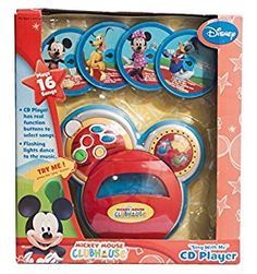 """Amazon.com: Disney Mickey Mouse Clubhouse """"Sing with Me"""" CD Player: Toys & Games"""