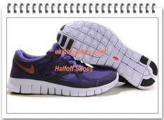 Free Shipping to Buy $68.99 Nike Free Run +2 Mens Purple Gold  #Cheap #purple #products cheap nike shoes