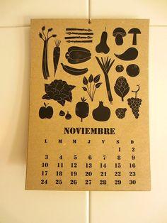 2014 SEASONAL CALENDAR  Seasonal vegetables for every month of year!