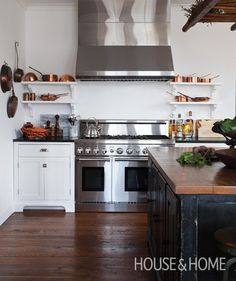 Sleek Country Kitchen | House & Home