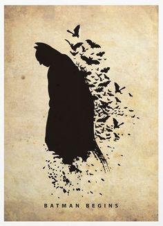 Olybop.info - Actualités Webdesign, Culture et Graphisme - » Posters d'ombres de Super-héros et Star Wars