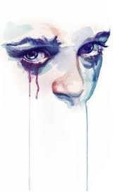 sad #art #watercolour This is how I feel today, we will miss you Tara.
