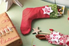 Here are the templates needed to stitch your own stocking advent calendar, as seen in issue enjoy! Christmas Countdown, Christmas Crafts, Winter Time, Free Sewing, Homemaking, Make Your Own, Christmas Stockings, Advent Calendar