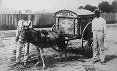 Vendedor de hielo en Ponce 1910