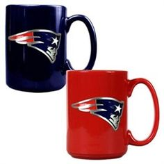 New England Patriots Coffee Mug Set
