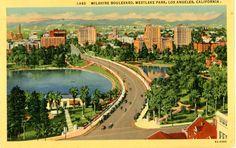 1941 Los Angeles postcard. Hagins collection.