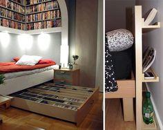 kreativne postele s uloznymi priestormi 09 Bunk Beds, Entryway, Furniture, Home Decor, Entrance, Decoration Home, Loft Beds, Room Decor, Door Entry