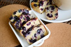 Protein Treats By Nicolette : Blueberry Cheesecake Protein Bread