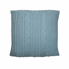 Cable Cushion Free Knitting Pattern and more free pillow knitting patterns