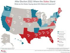 The Supreme Court's Bailout of Red State Democrats - The big defeat the Obama administration took in the Affordable Care Act litigation is that the Supreme Court made it much easier for states to opt out of the law's Medicaid provisions. And per the map above (via Sarah Kliff) an awful lot of states are going to opt out, at least initially.