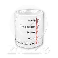 Now you can talk to me coffee mug