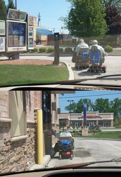 20 Super Funny Things You Might See On The Drive Thru