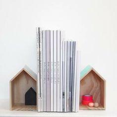 Image of Serre-livre/ Boîtes décoratives Maison (x2)