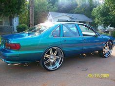 94 95 96 impala ss 7 spoke asanti af146 wheels