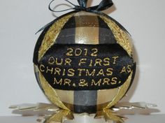 2012 Mr and Mrs Quilted Kimekomi Christmas by craftcrazy4u on Etsy, $16.00