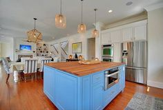 Contemporary Kitchen with armani fine wood working, AMERICAN CHERRY BUTCHER BLOCK COUNTERTOP - CUSTOMIZE & ORDER ONLINE