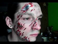 FX Makeup Tutorial 03 - Terminator road rash [3.5.11]