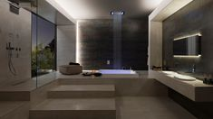 ⇢ The #bathroom of the future  Its #design and equipment will be like this in 20 years  #trends #interiordesign