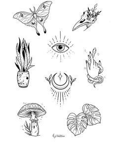 Cute Small Tattoos, Mini Tattoos, Body Art Tattoos, Tatoos, Kritzelei Tattoo, Tattoo Now, Art Drawings Sketches, Tattoo Drawings, Third Eye Tattoos